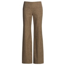 Audrey Talbott Stretch Tweed Pants - Wool Blend (For Women) in Brown Multi - Closeouts