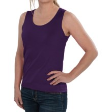 August Silk Knit Sleeveless Top - Silk Blend (For Women) in Twilight Purple - Closeouts