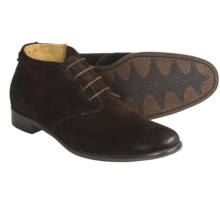 Auri Enzo Suede Boots - Lace-Ups (For Men) in Burnished Brown - Closeouts