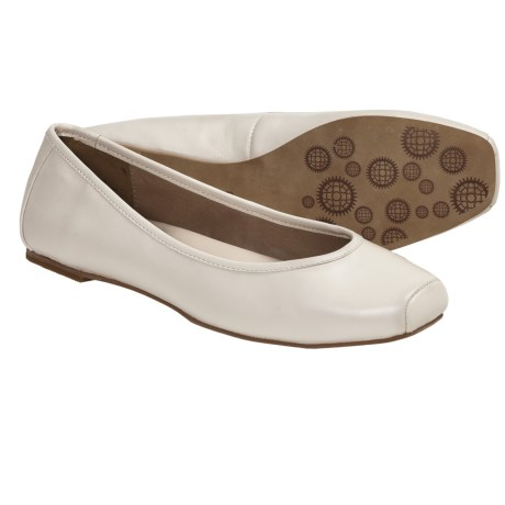 Auri Jamie Ballerina Flats - Leather (For Women)