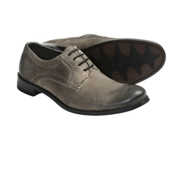 Auri Lars Shoes - Oxfords (For Men) in Taupe Burnished Suede