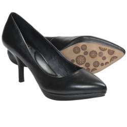 Auri Luciana Pumps (For Women) in Black Calf