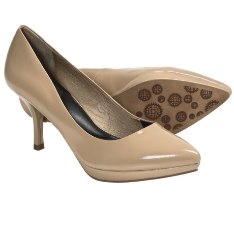 Auri Luciana Pumps (For Women) in Nude Patent