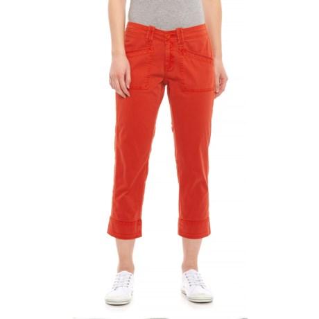 Image of Aurora Red Arden V2 Slimmer Pants - Organic Cotton (For Women)