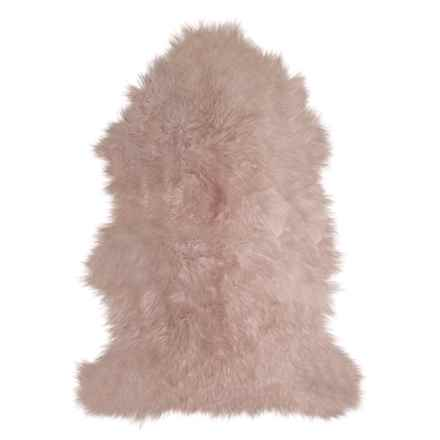 "Auskin Sheepskin Single Pelt Pet Rug - 37x24"" in Brown - Overstock"