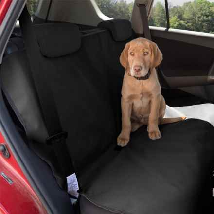 Aussie Naturals Canine Companion Car Seat Cover - Waterproof in Black - Closeouts
