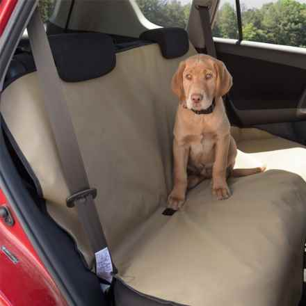 Aussie Naturals Canine Companion Car Seat Cover - Waterproof in Tan - Closeouts
