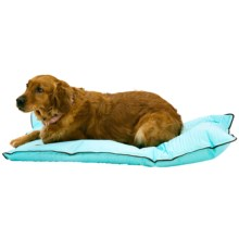 "Aussie Naturals Cushioned Cooling Dog Mat - Large, 42x24"" in Baby Blue - Closeouts"