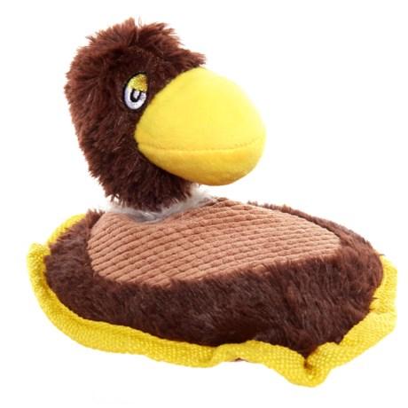 Aussie Naturals Duck Dog Toy - Squeaker in See Photo