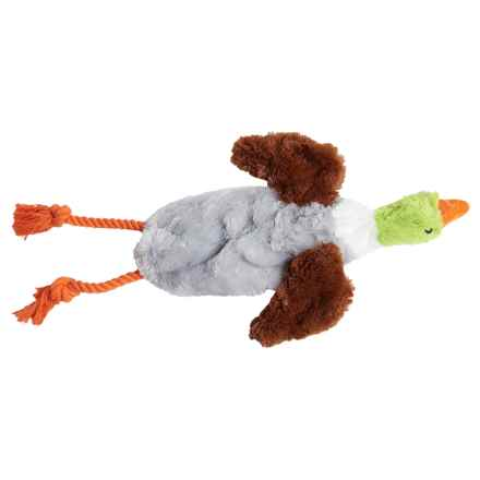 Aussie Naturals Floppie Duck Dog Toy - Stuffing Free in See Photo - Closeouts