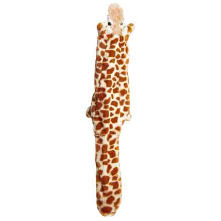 Aussie Naturals Floppie Giraffe Dog Toy - Squeaker in See Photo - Closeouts