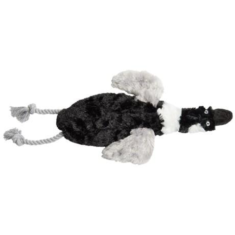 Aussie Naturals Floppie Goose Dog Toy - Stuffing Free in See Photo