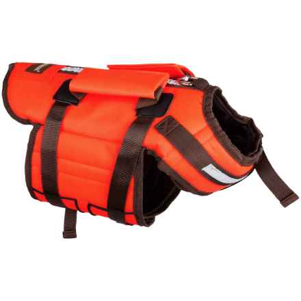 Aussie Naturals High-Visibility PFD Life Jacket - S-M in Orange - Closeouts