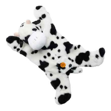 Aussie Naturals Jumbo Cow Dog Toy - Built-In Squeakers in See Photo - Closeouts