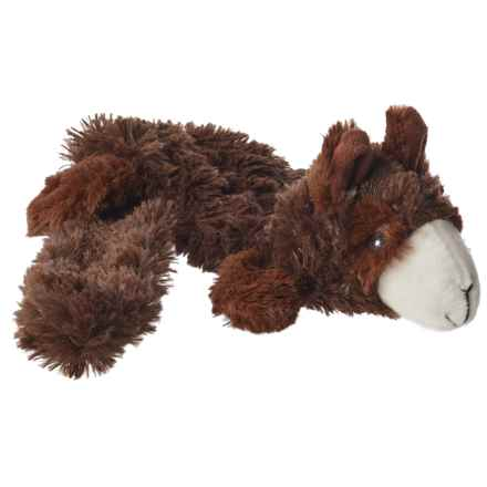 Aussie Naturals Lobbie Llama Dog Toy - Squeaker, Stuffing Free in See Photo - Closeouts