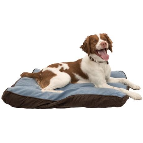 """Aussie Naturals Perth Dog Bed - 38x28"""", Medium in Blue"""