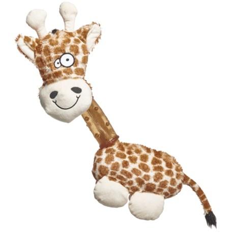 Aussie Naturals Squeakies Giraffe Dog Toy in See Photo