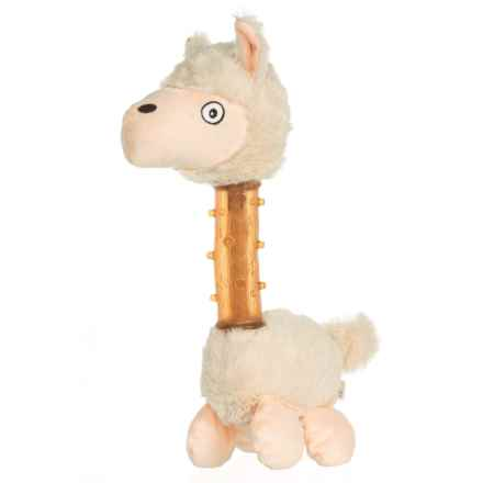 Aussie Naturals Squeakies Llama Dog Toy in See Photo - Closeouts