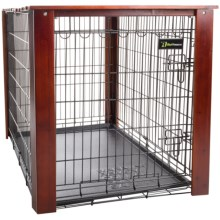 "Aussie Naturals Stained Wood Crate Cover - Large, 36x23x25"" in See Photo - Closeouts"