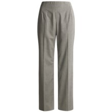 Austin Reed Stretch Gabardine Pants - No Waist, Three Fits (For Women) in Pearl Grey - Closeouts