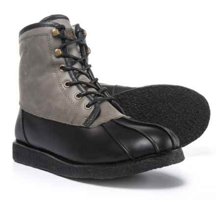 Australia Luxe Collective Lancelot Winter Boots - Waterproof, Shearling Lined (For Men) in Black - Closeouts