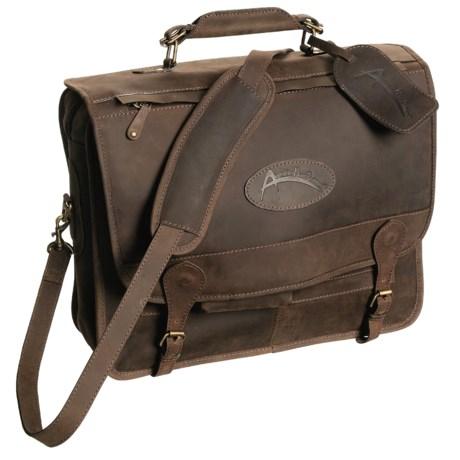 Australian Bag Outfitters Cobber Messenger Bag - Leather