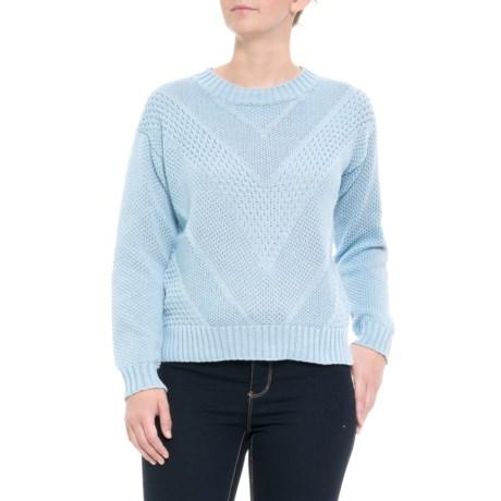Image of Australian Designer Pattern Knit Sweater - Crew Neck (For Women)