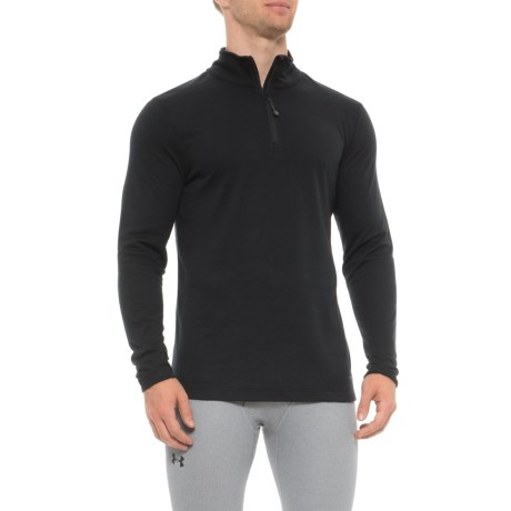 Image of Authentic Base Layer Top - Zip Neck, Long Sleeve (For Men)