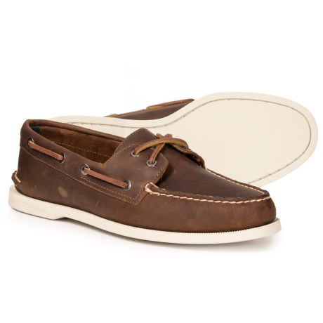 Image of Authentic Original 2-Eye Boat Shoes - Leather (For Men)