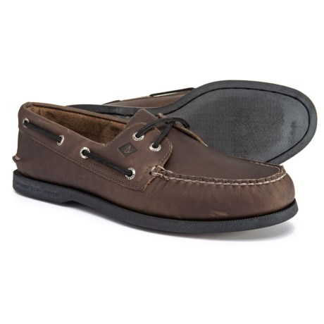 Image of Authentic Original Pullup Boat Shoes - Leather (For Men)