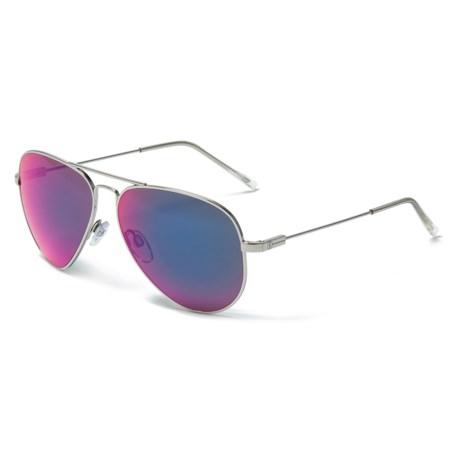 Image of AV1 Large Aviator Ohm Lens Sunglasses