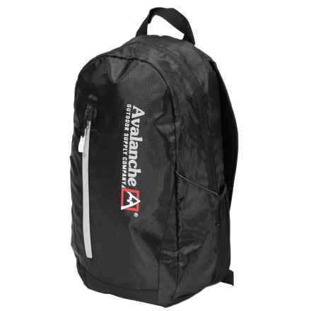 """Avalanche 17"""" Yutan Backpack in Black - Closeouts"""