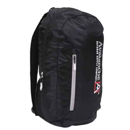"""Avalanche 20"""" Yutan Backpack in Black - Closeouts"""