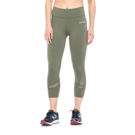 Avalanche Airlie Capris (For Women) in Lichen Green
