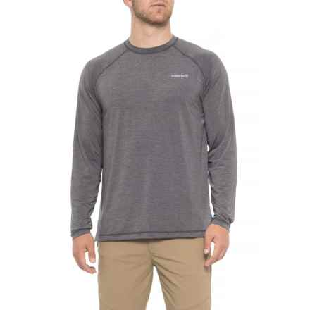 Avalanche Asphalt Sun Protect T-Shirt - UPF 50+, Long Sleeve (For Men) in Asphalt - Closeouts