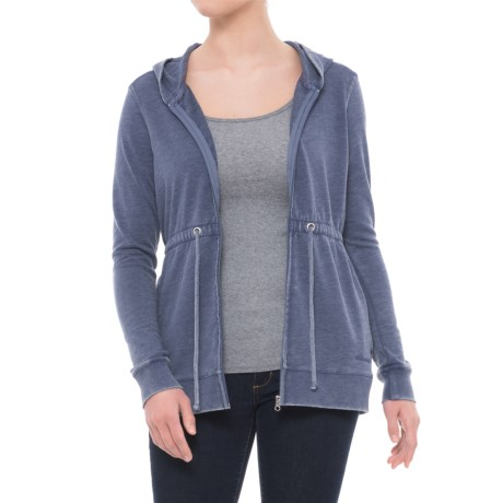 Avalanche Bandera French Terry Hoodie (For Women) in Deep Cobalt
