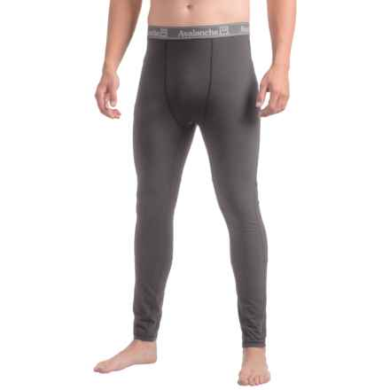 Avalanche Blanc Base Layer Tights (For Men) in Asphalt - Closeouts