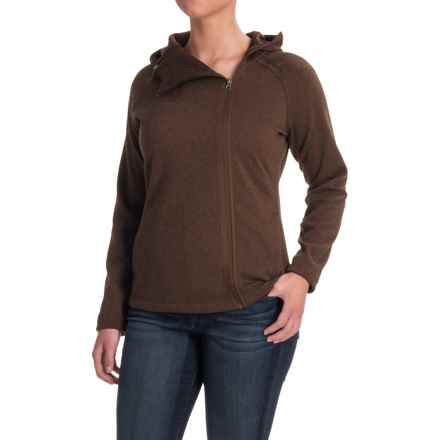 Avalanche Calista Hoodie (For Women) in Coffee Bean Heather - Closeouts