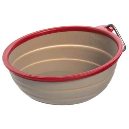 Avalanche Collapsible Travel Pet Bowl - 36 oz. in Red - Closeouts