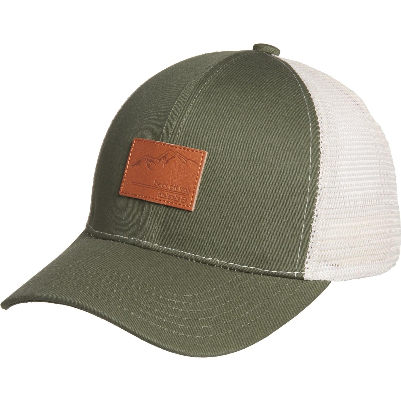 663569c7e Avalanche Deboss Mountain Trucker Hat (For Men)