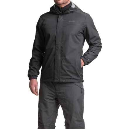 Avalanche Deluge Winsport Rain Shell (For Men) in Black - Closeouts