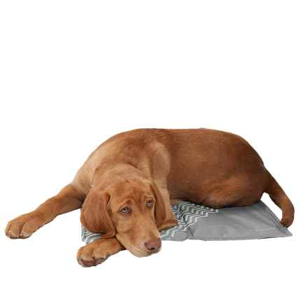 """Avalanche Dog Gel Cooling Mat - 16x20"""" in Grey - Closeouts"""