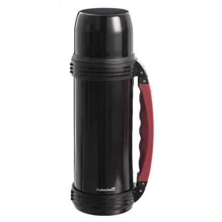 Avalanche Double Wall Vacuum-Insulated Stainless Steel Bottle - 40 oz. in Black