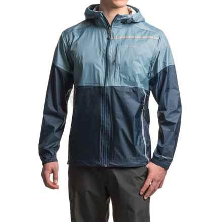 Avalanche El Portal Rain Jacket - Waterproof, Full Zip (For Men) in Blue Shadow - Closeouts