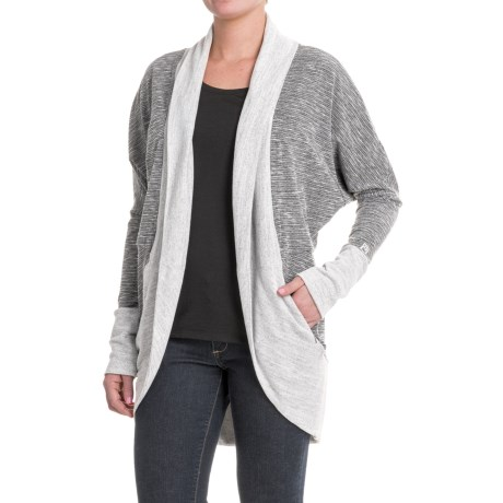 Avalanche Fionna Cardigan Sweater (For Women) in Black