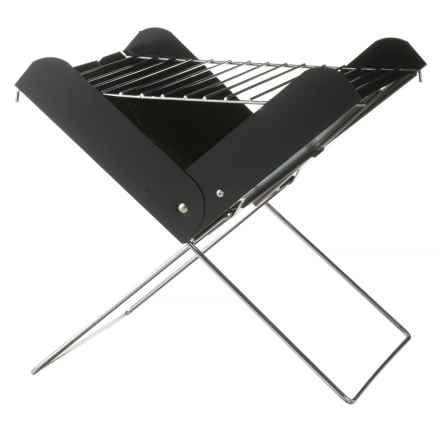 Avalanche Foldable Compact Grill with Carrying Bag in See Photo - Closeouts