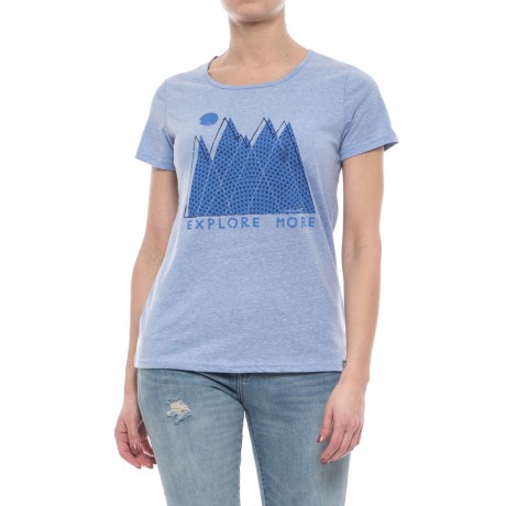 Avalanche Graphic T-Shirt - Short Sleeve (For Women)