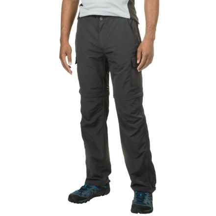 Avalanche Half Dome Convertible Pants (For Men) in Asphalt - Closeouts