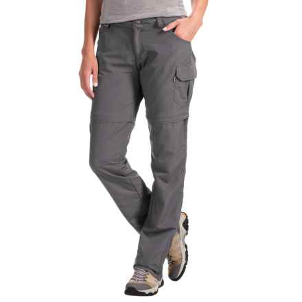 Avalanche Half Dome Convertible Pants (For Women) in Asphalt - Closeouts