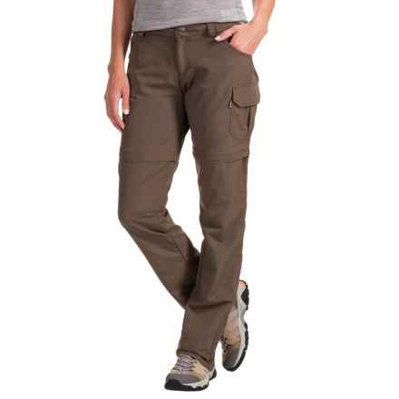 Avalanche Half Dome Convertible Pants (For Women) in Canteen - Closeouts